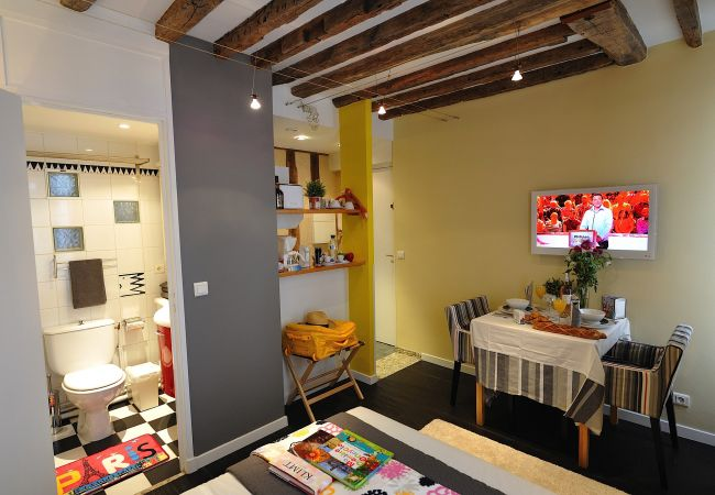 Studio à Paris ville - D3DD Carrera