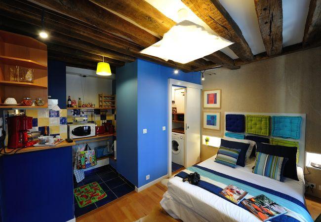 Studio in Paris - A3DF Blue Lagoon