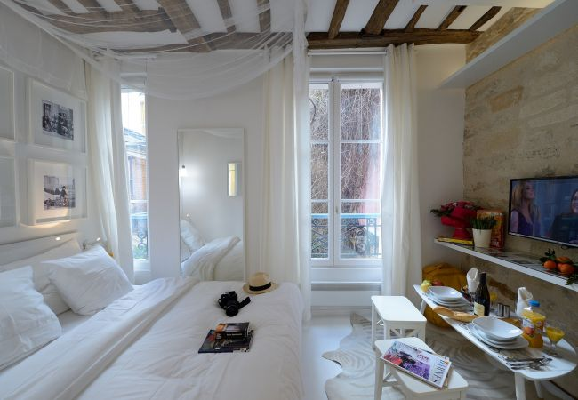 Studio in Paris ville - D1GD Very White