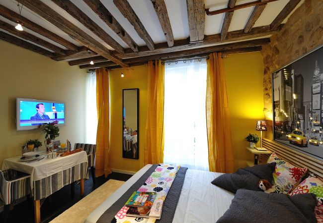 Studio in Paris ville - D3DD Carrera