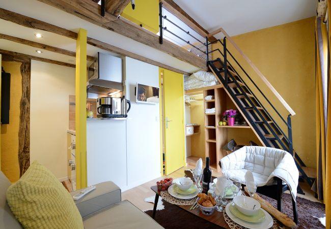 Studio in Paris ville - E5GG Honey Mustard