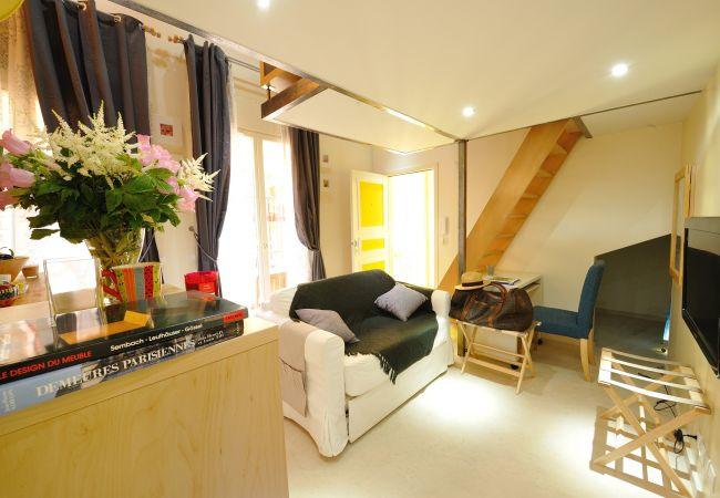 Apartment in Paris - F0D Fruit of the moon